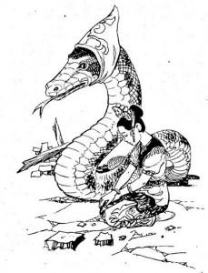 ular dandaung